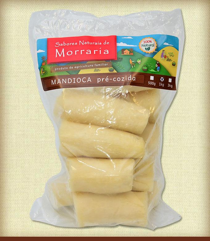 Mandioca Pre-cozida 1kg