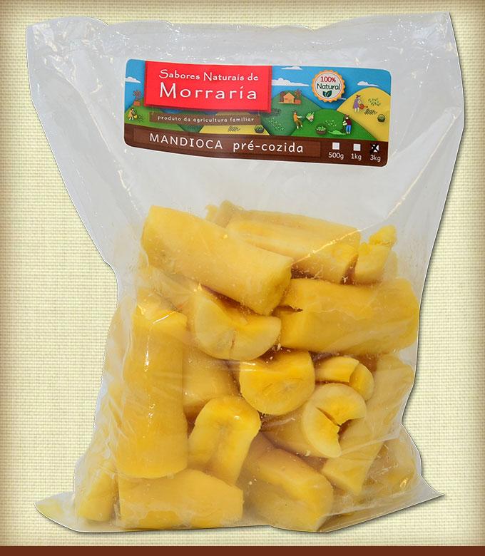 Mandioca Pre-cozida 3kg