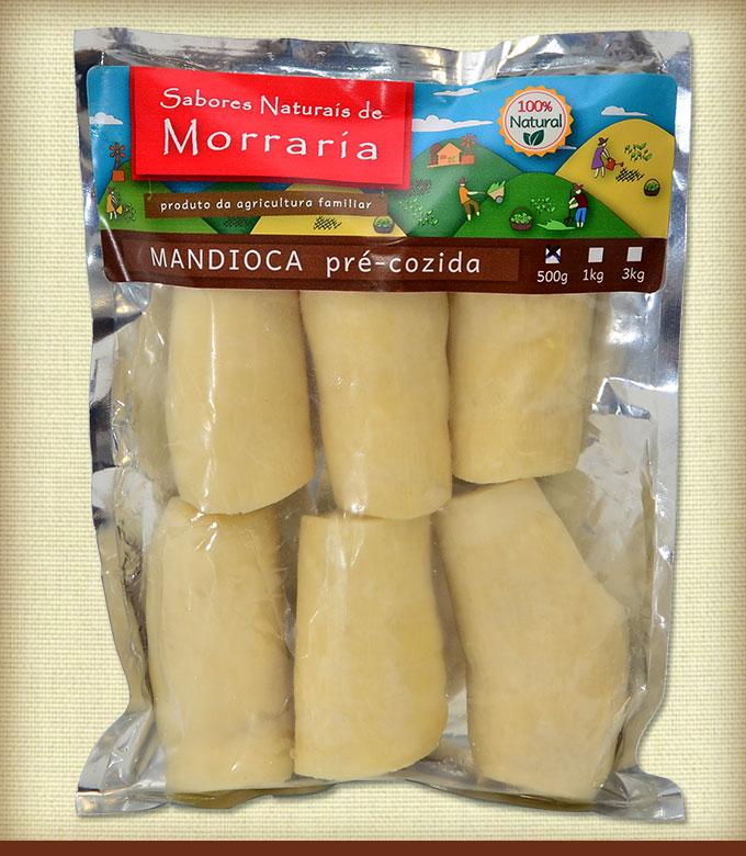 Mandioca Pre-cozida 500